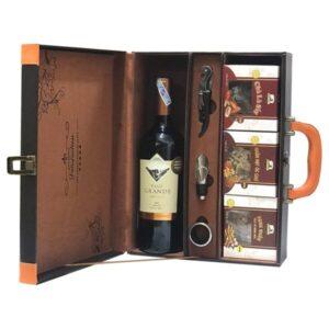 hộp quà the wine box 16