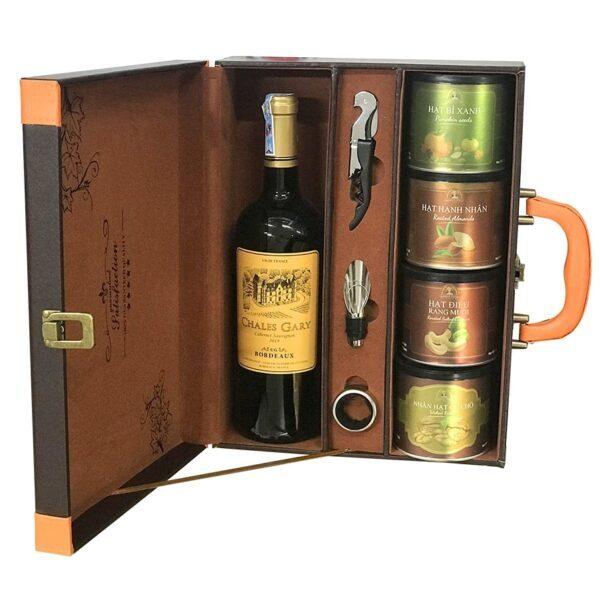 hộp quà the wine box 18