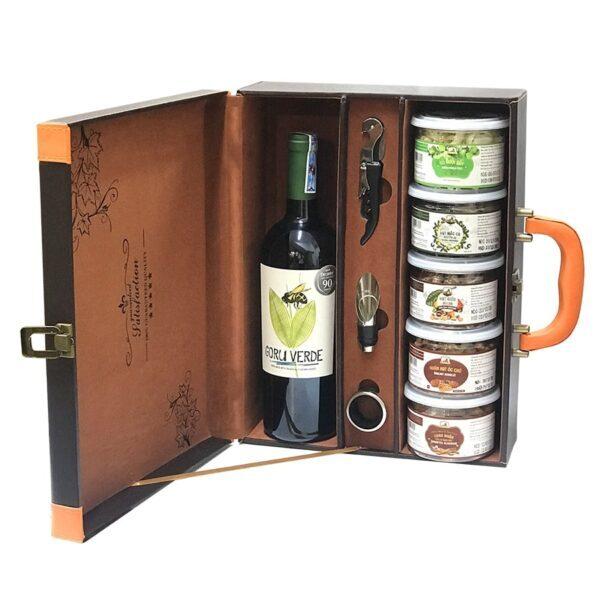hộp quà The wine box 20