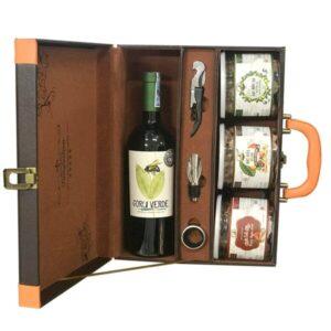 hộp quà the wine box 22