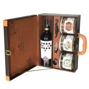 hộp quà the wine box 25